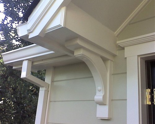 Large corbels houzz for Large exterior corbels