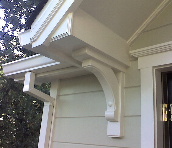 Corbel for Exterior house brackets