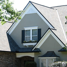 Traditional Exterior by Universal Roof & Contracting