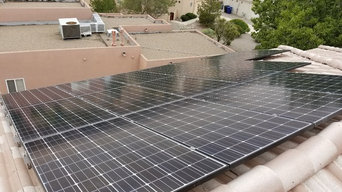 Rooftop Solar Panel Installation