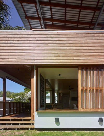 Contemporary Exterior by Arcke Pty Ltd