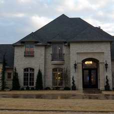 Traditional Exterior by Christopher Lee & Company Fine Homes