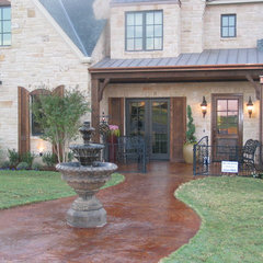 traditional exterior by Cornerstone Homes by Chris Moock, LLC