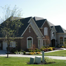 Traditional Exterior by Toebben Builders