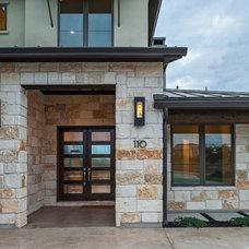 Contemporary Exterior by Seven Custom Homes