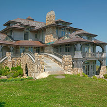 Round Hill - Stone and Shingle Style