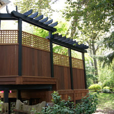 Traditional Exterior by Deck Remodelers.com