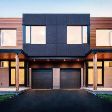 Contemporary Exterior by Christopher Simmonds Architect