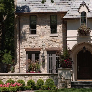 Royal Dusk Natural Thin Stone Veneer Residential Exterior