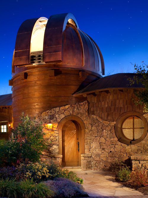 Observatory houzz for House plans with observation room