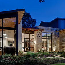Contemporary Exterior by LaRue Architects