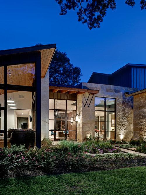 Contemporary Homes With Cedar Siding Modern Cedar Siding: Lueders Limestone
