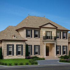 Traditional Exterior by Hollingsworth Design