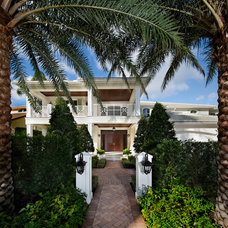 Tropical Exterior by W.A. Bentz Construction, Inc.