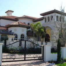 Mediterranean Exterior by Franky & Associates Architect Inc