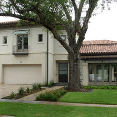 Eclectic Exterior by GABRIEL HOME BUILDERS INC