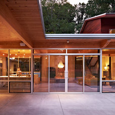 Contemporary Exterior by John C. Sanders and Company