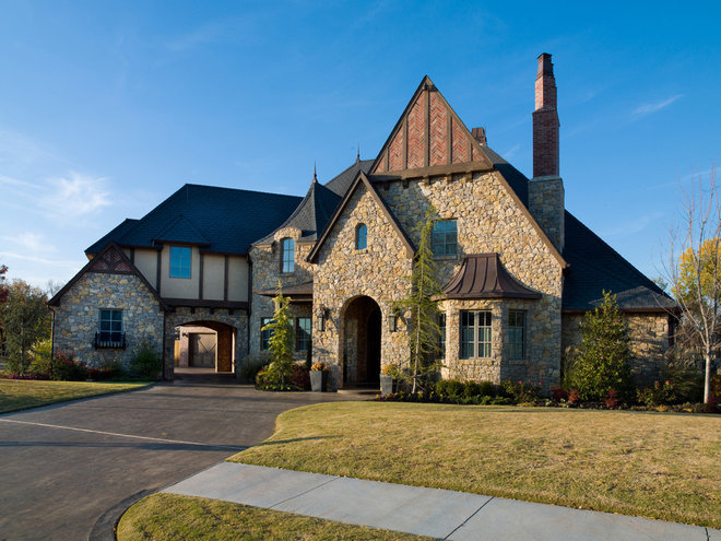 Traditional Exterior by Rick Hoge