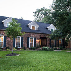 Traditional Exterior by Mission Custom Builders