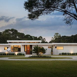 Diseño de fachada moderna extra grande