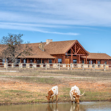 Rush Creek Ranch Log Home and Addition (L12667)