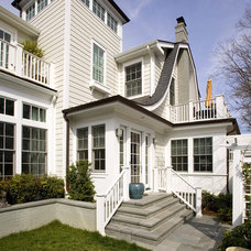 Traditional Exterior by Harry Braswell Inc.