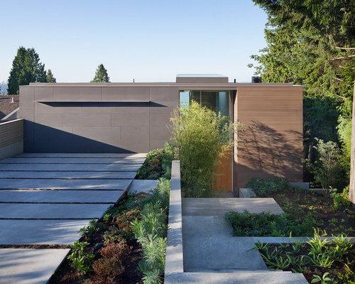 Cedar clad garage doors home design ideas renovations for Cedar clad garage doors