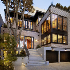 Modern Exterior by Charlie Barnett Associates
