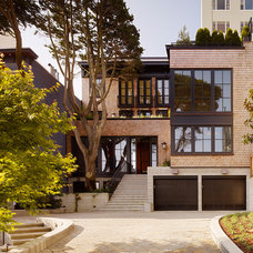 Contemporary Exterior by Charlie Barnett Associates