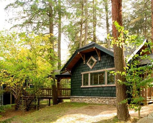 Rustic Cabin Houzz