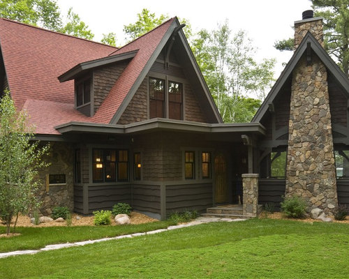 Dark Siding Home Design Ideas Pictures Remodel And Decor