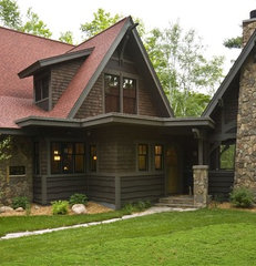 traditional exterior by nancekivell home planning & design
