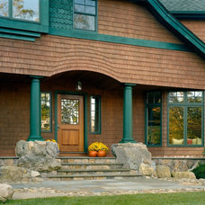 Traditional Exterior by Riverside Design and Build
