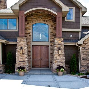 Идея дизайна: дом в восточном стиле