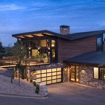Rustic Contemporary on the Lake