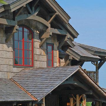 Rustic Craftsman Lodge