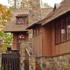 traditional exterior by Dungan Nequette Architects