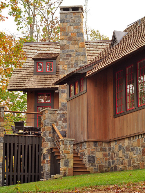 Brown Exterior House Colors Home Design