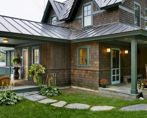 Exterior House Colors With Brown Roof Home Design Ideas Pictures Remodel And Decor