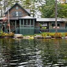 Vintage Waterfront Cottage Update and Addition
