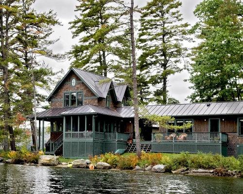 Cottage Exterior Color Home Design Ideas Pictures