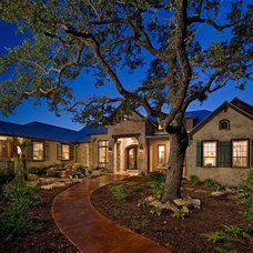 Rustic Exterior by Authentic Custom Homes