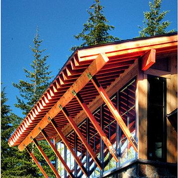 Rustic Modern Mountain Cabin