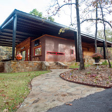 Rustic Exterior by Wright-Built