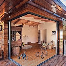 Asian Exterior by Sorensen Architects & Interiors