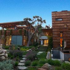 Asian Exterior by Sorensen Architects