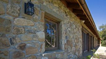 Rustic stone work