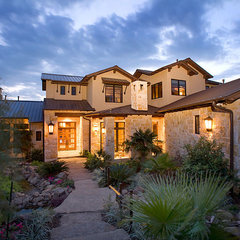 contemporary exterior by Russell Eppright Custom Homes