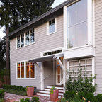 Rutherford Residence Transitional Exterior San