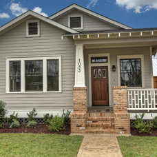 Craftsman Exterior by Southern Green Builders